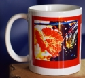 Photo Mug, Red, Side 1